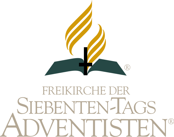Logo of the Seventh-day Adventists with the cross upside down